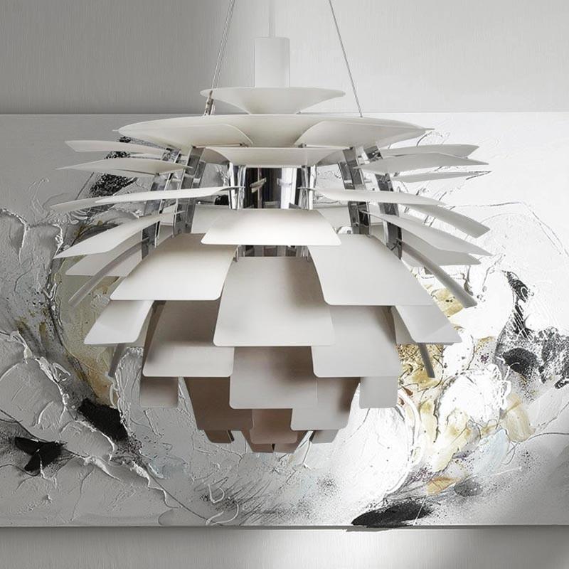 Подвесной светильник PH Artichok by Louis Poulse D50 (серебряный)