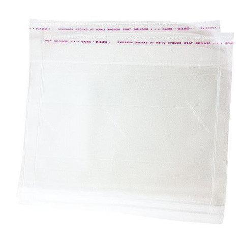 Пакет фасовочный со скотчем ПП (20) 30х40 см БОПП пакет