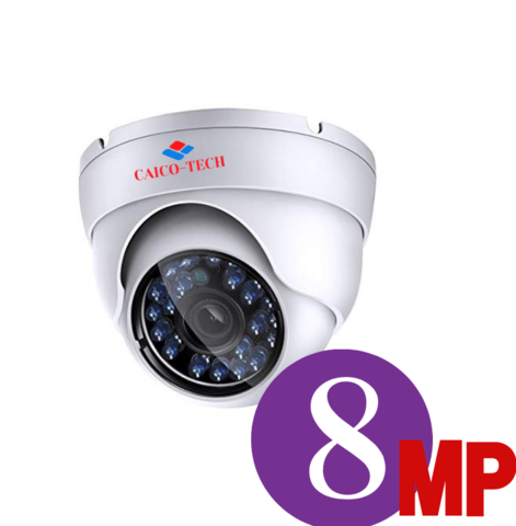 Видеокамера для помещения в резолюции 4K Ultra HD 8Мп