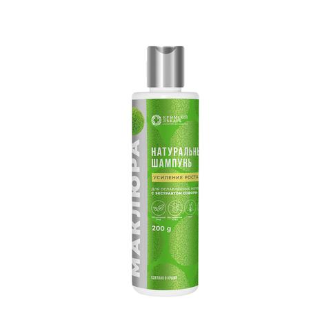 МДП Натуральный шампунь Усиление роста для ослабленных волос, 200г