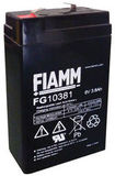 Аккумулятор FIAMM FG10381 ( 6V 3,8Ah / 6В 3,8Ач ) - фотография
