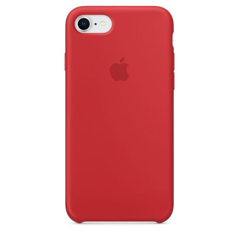 Чехол IP7/8 Silicone Case Red
