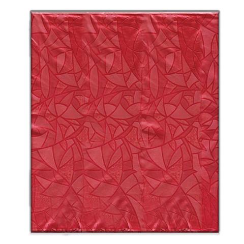 Скатерть одноразовая ПВХ 120x180 см красная