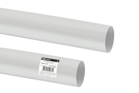 Воздуховод пласт. круглый, D125, 1,5 м, TDM