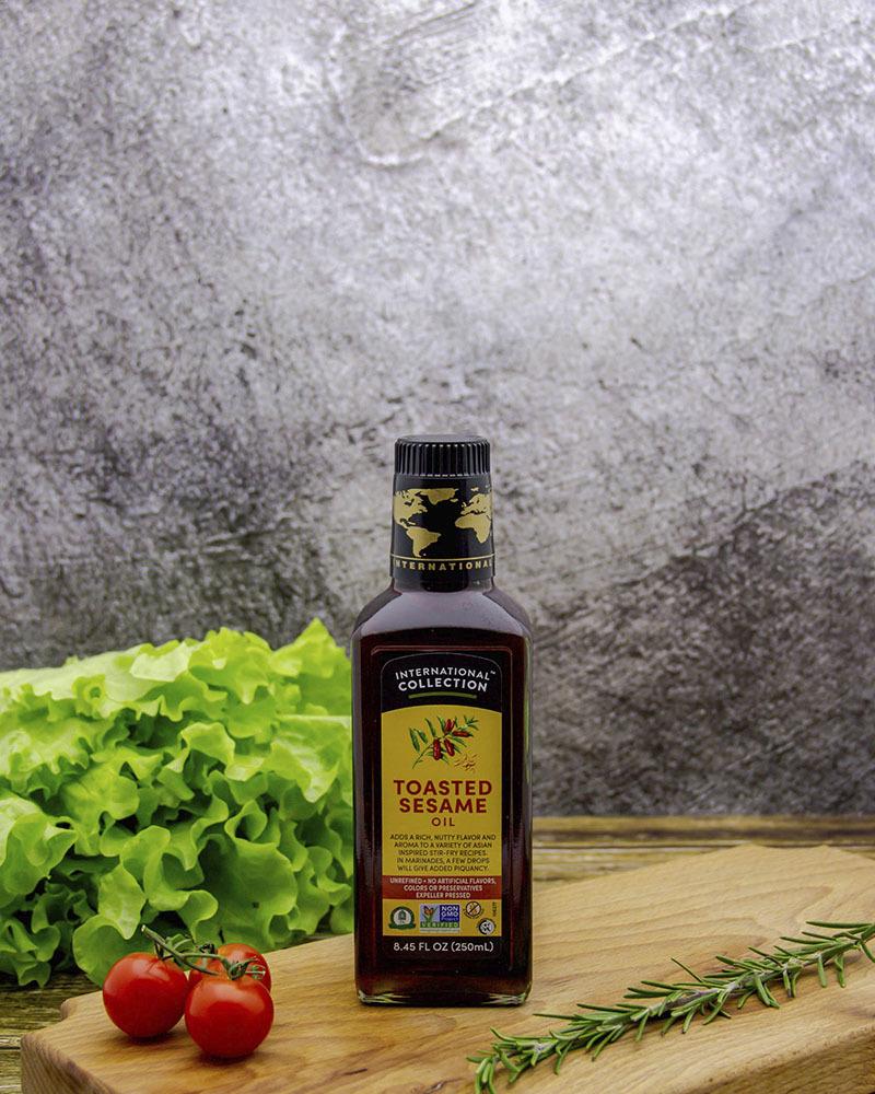 Масло растительное Кунжутное  International Collection 250 мл.