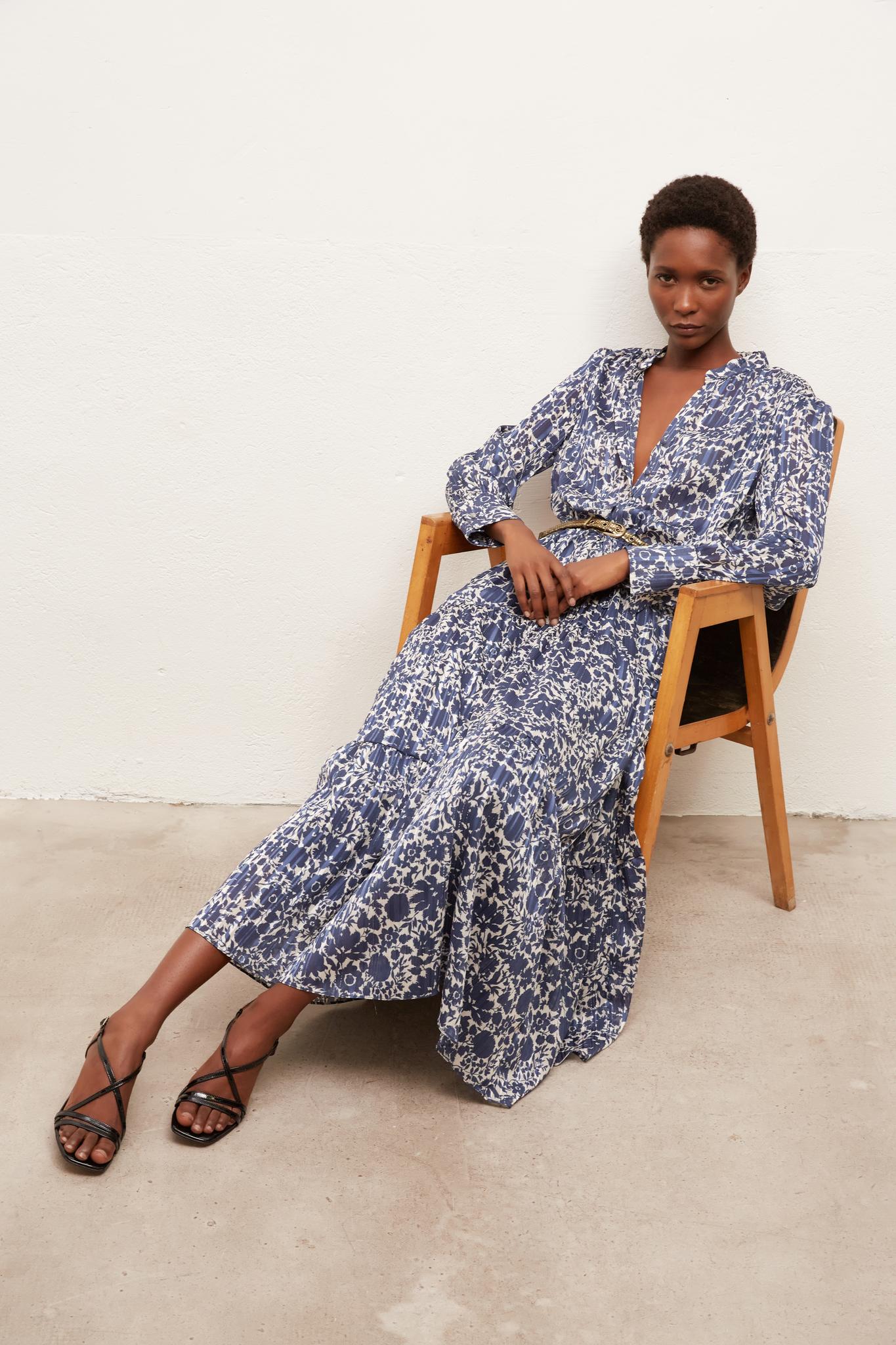 SELDA - Платье с цветочным принтом
