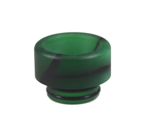Drip-Tip 810 Acrylic d12.2 зелёный
