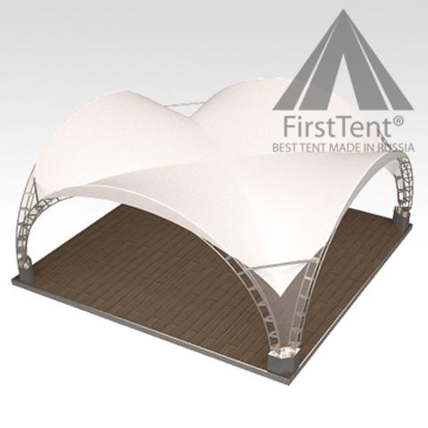 Арочный шатер 6х6
