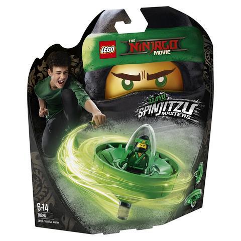 LEGO Ninjago: Ллойд — мастер Кружитцу 70634 — Lloyd — Spinjitzu Master — Лего Ниндзяго
