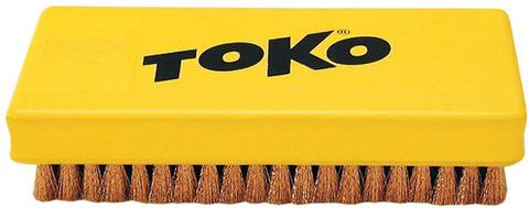 Картинка щетка Toko ручная, медная 14 мм  - 1