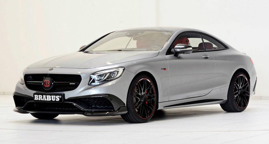 Обвес Brabus для Mercedes S63 Coupe (C217)