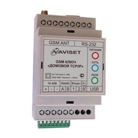 Домовой IP DIN 2G модуль GSM Naviset