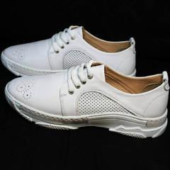 Модные кроссовки белые женские Derem 18-104-04 All White
