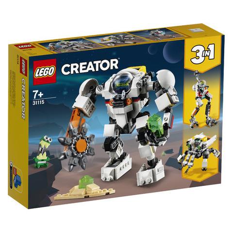 Lego konstruktor Creator Space Mining Mech