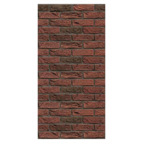 Плита ФАСПАН Красно-коричневый №1003 Вертикаль (1200х600х8мм)