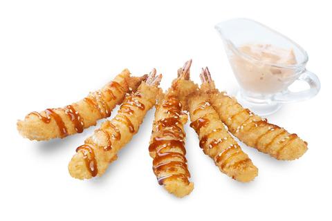 Креветки в темпуре Спайси