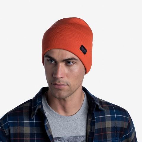 Вязаная шапка Buff Hat Knitted Niels Tangerine фото 2