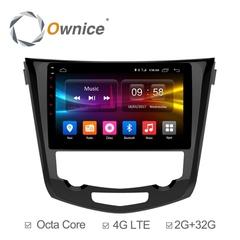 Штатная магнитола на Android 6.0 для Nissan Qashqai 2 Ownice C500+ S1668P