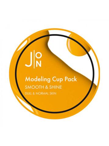 J:ON Альгинатная маска гладкость и сияние Smooth & Shine Modeling Mask, 18 гр