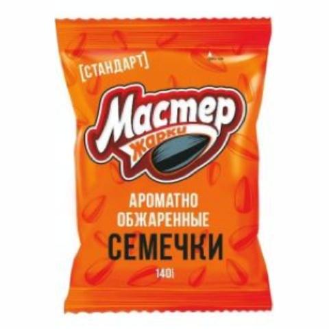 Семечки МАСТЕР ЖАРКИ 140 г Джинн РОССИЯ