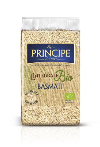 Basmati - Органический цельнозерновой длиннозёрный рис Riso Principe
