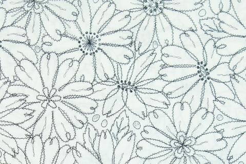 ITO Ткань Flowers & Holes