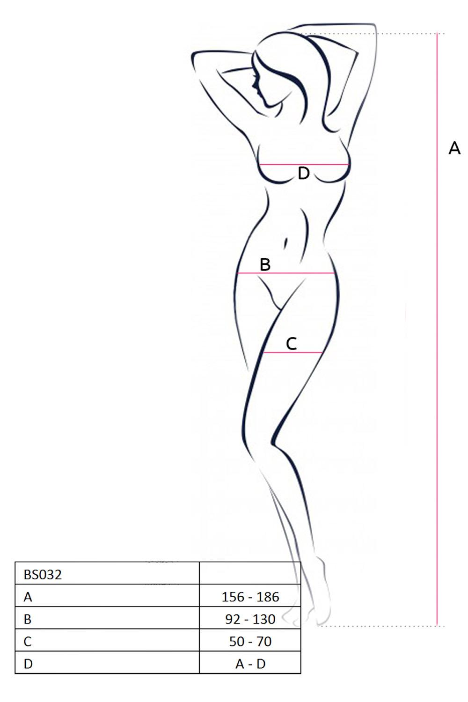 Сетка на тело контактная с вырезом в интимной зоне
