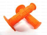 Мото грипсы FAST PRO, мягкие ручки руля, оранжевые