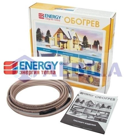 Саморегулирующий кабель Energy 17HLM2-CT (8 м)