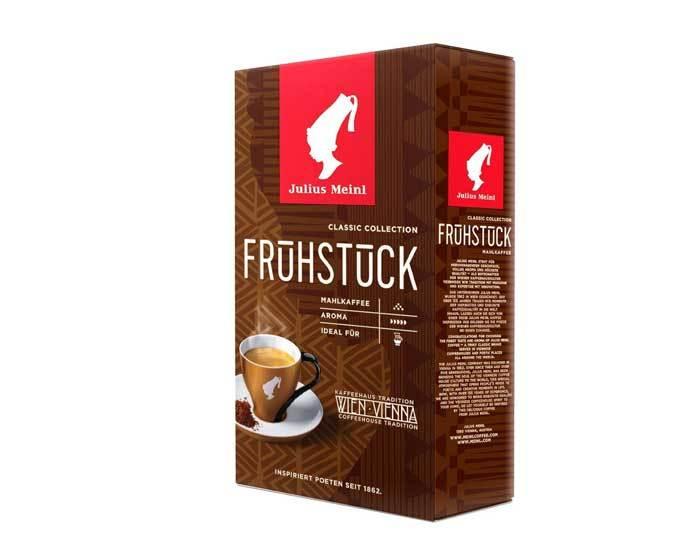 Кофе молотый Julius Meinl Fruhstuck (Венский Завтрак) Classic Collection, 500 г