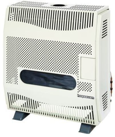 Конвектор газовый напольный - Hosseven HBS-9/1V Fan со стальным теплообменником (9 кВт)