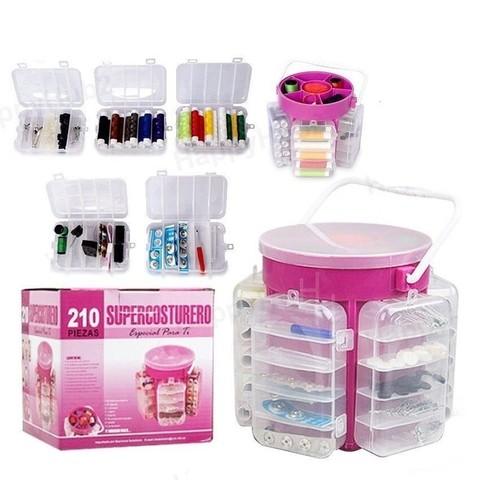 Набор для шитья и рукоделия Supercosturero (210 предметов)