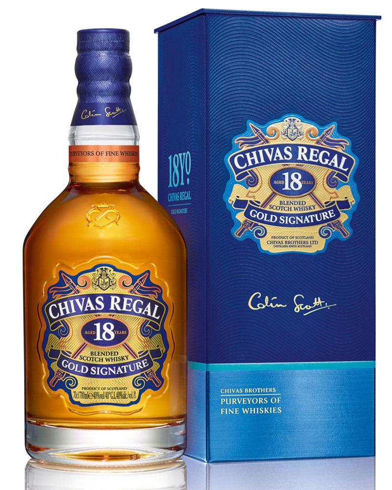 Виски Chivas Regal 18 лет 40%, 0,7 л.