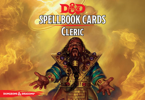 D&D Next: Spellbook Cards (Cleric)