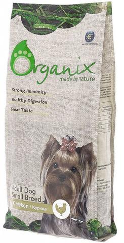 Organix корм для собак малых пород с Курицей
