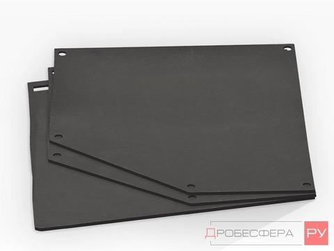 Резиновая облицовка для пескоструйной камеры CAB-110 с проходными дверями