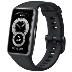 Умный браслет Huawei Band 6 Black (Графитовый черный)