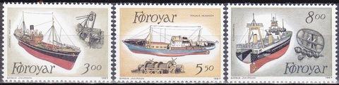 Фарерские острова 1987 №151-3 **MNH