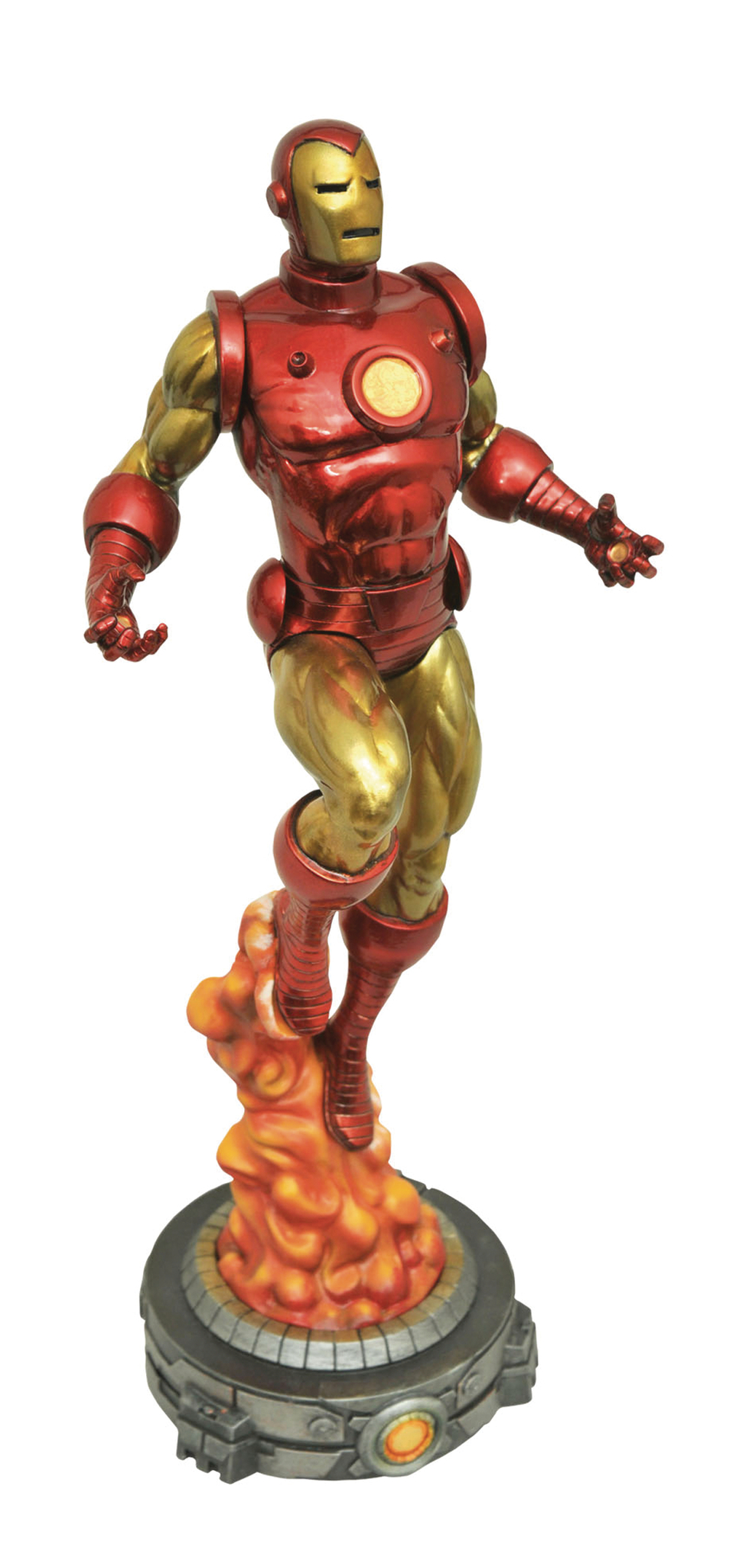 Марвел Галерея фигурка Классический Железный человек — Marvel Gallery Classic Iron Man