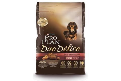 Сухой корм Purina Pro Plan Duo Delice для взрослых собак мелких и карликовых пород, лосось с рисом