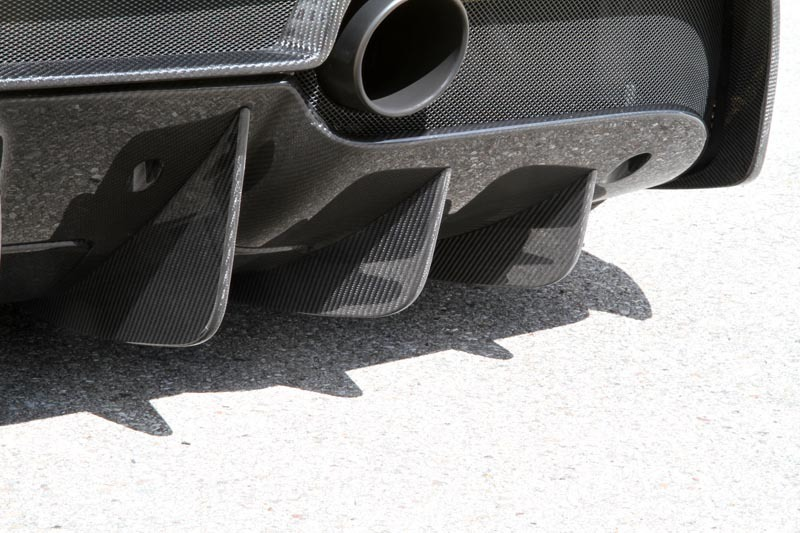 Карбоновые ребра диффузора Novitec Style для Ferrari 488 GTB
