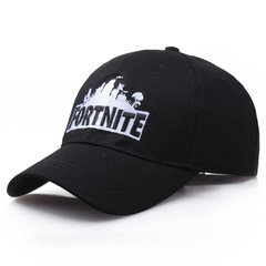 Модная бейсболка с вышивкой Fortnite  (Кепка Фортнайт) черная