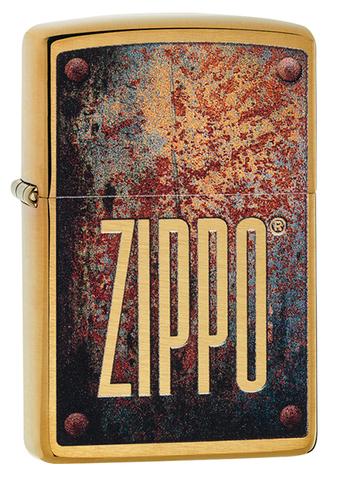 Зажигалка Zippo 29879 Rusty Plate Design