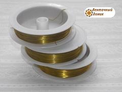 Проволока золотая диаметром 0,3 мм