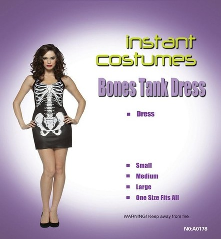Платье - скелет