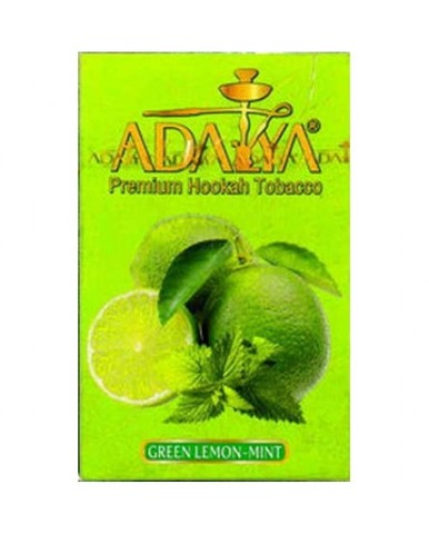 Табак Adalya Green-Lemon-Mint (Лайм с Мятой) 50 г