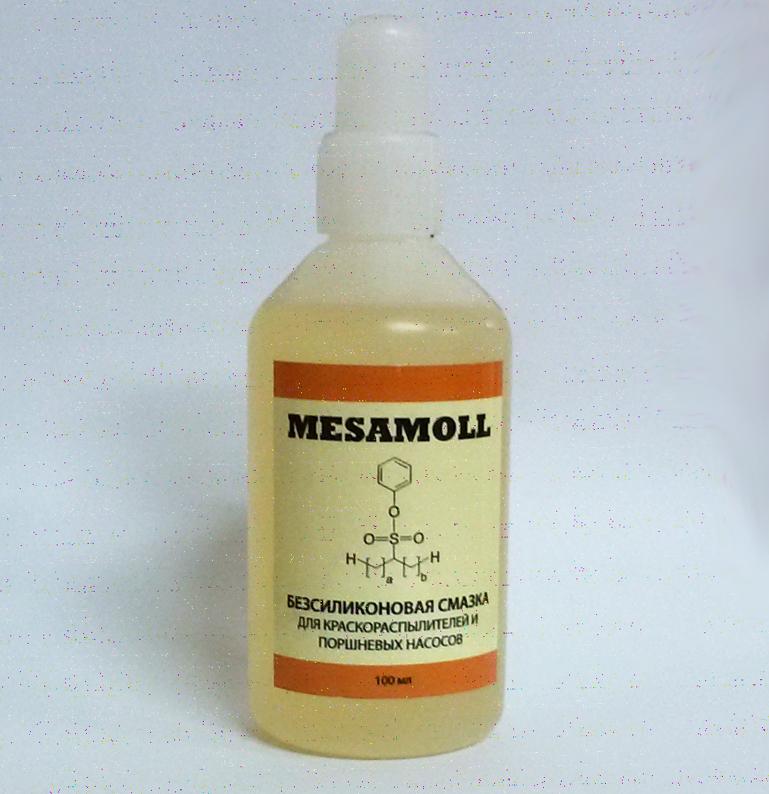 Масло для смазки краскопульта MESAMOLL купить