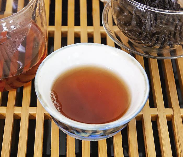 TEA-CH115 Китайский чай «Большой Красный Халат» (Да Хун Пао, сильная обжарка, 50 гр) фото 16