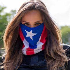 Бандана-труба SA Puerto Rico Flag (с флагом) - 2