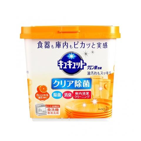 Kao Cucute Citric Acid Effect Orange oil Порошок для посудомоечных машин с дезодорирующим эффектом и